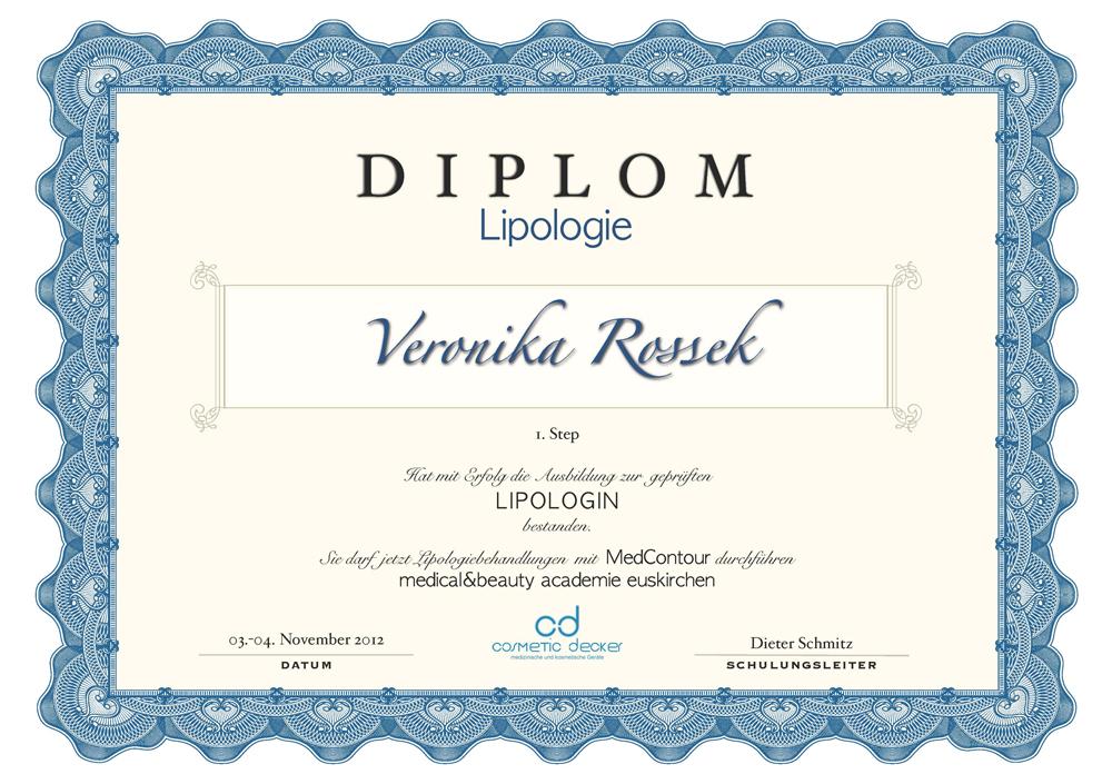 Zertifikat veronika Сертификаты